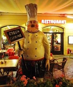 obal a vzhled exteriéru restaurace