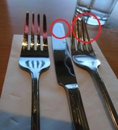 pribory v restauraci